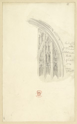 Part Of The Old Windows In Westminster Hall, 1834